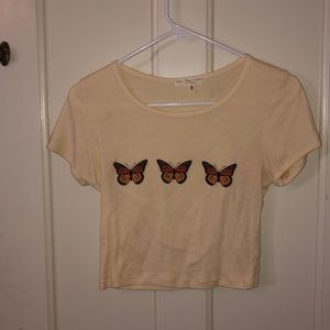 Urban outfitters butterfly shirt